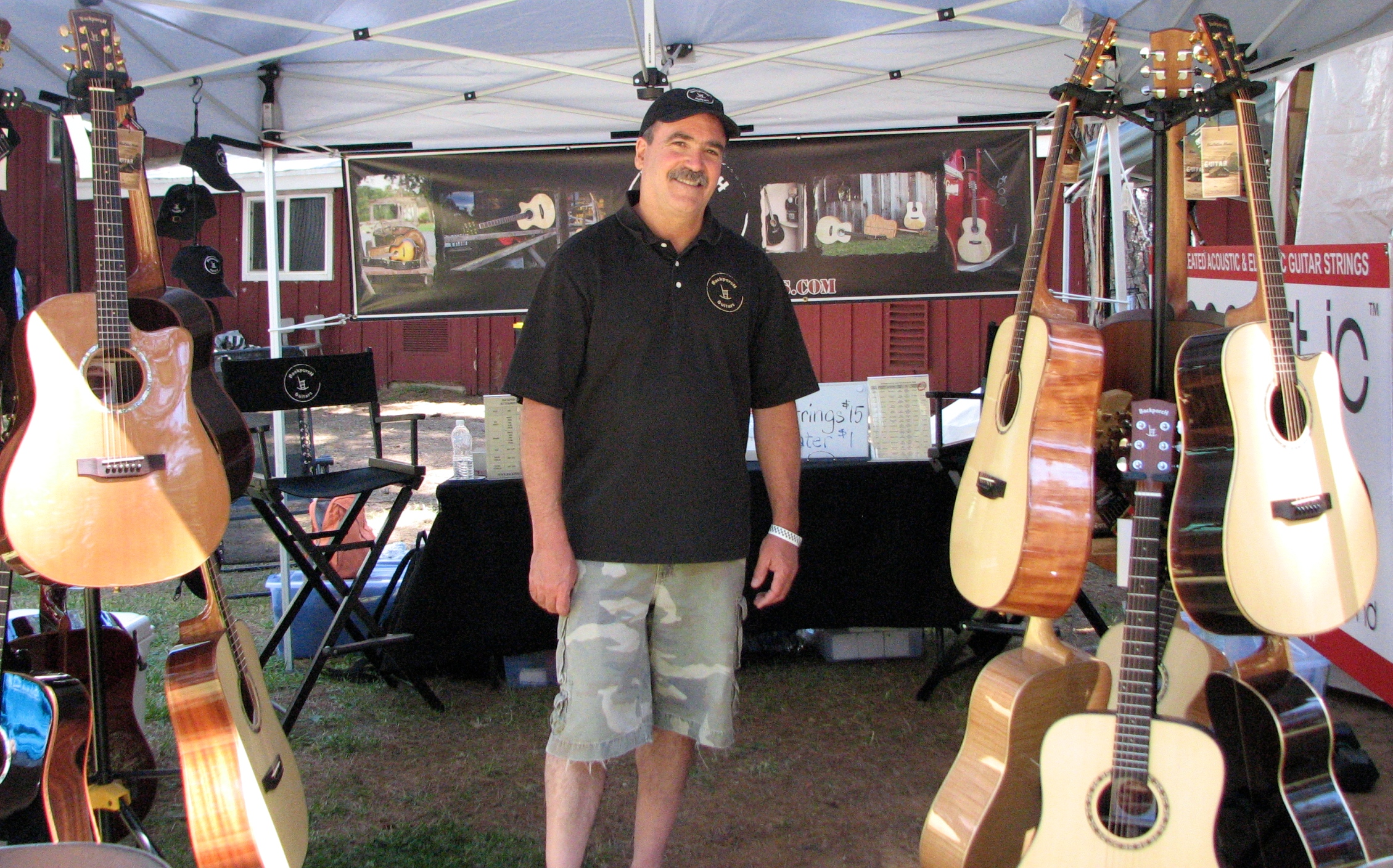 2014 Grass Valley Bluegrass Festival ~ Jim Hagerty