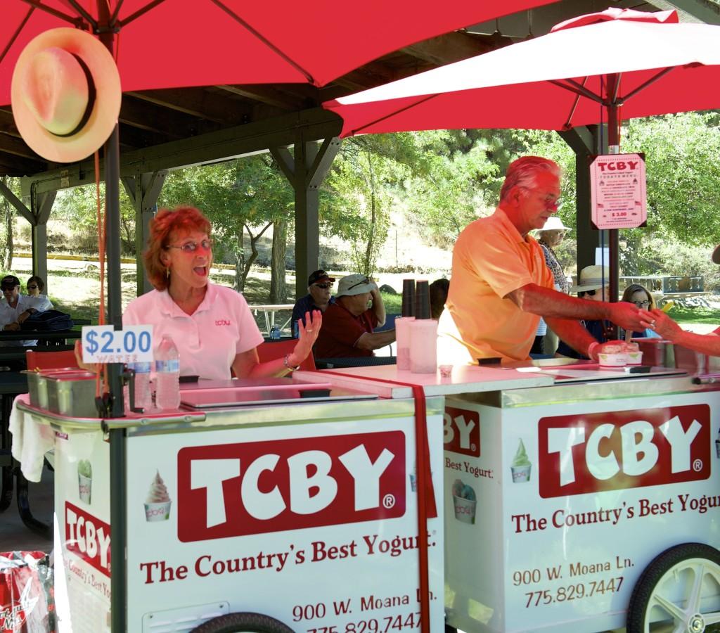TCBY Frozen Yogurt