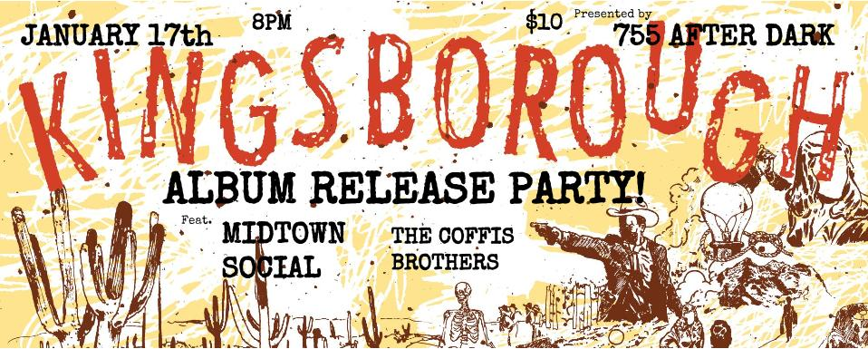 Kingsborough Release Party