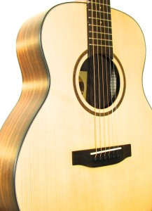 Fire Fly Travel Size Engelmann Spruce Top, Rosewood Back/Sides