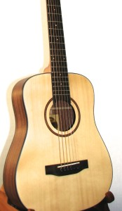 Fire Fly Travel Size Engelmann Spruce Top, Mahogany Back/Sides